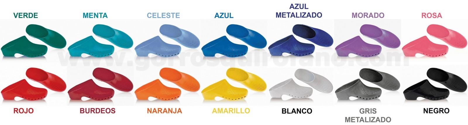 zapatos deportivos 10158 cc3a4 Zuecos Calzuro baratos