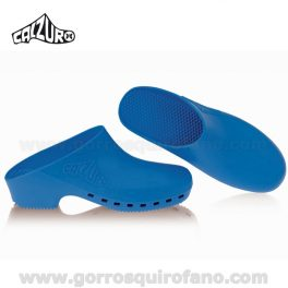Zuecos Calzuro sin agujeros Azules