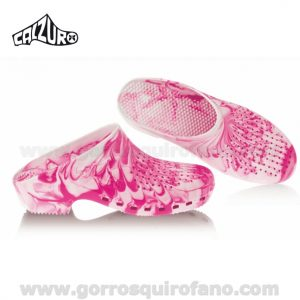Zuecos Calzuro Fancy Rosa