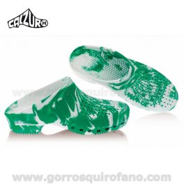 Zuecos Calzuro Fancy Verde