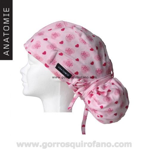 Gorro tela Quirofano Enfermeras ANA1032