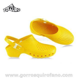 Zuecos Calzuro Amarillo