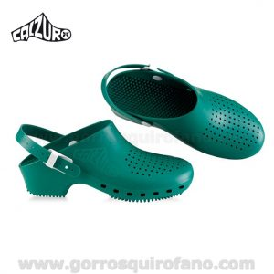 Zuecos Calzuro Verde