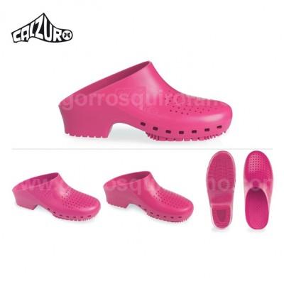 Zuecos Calzuro rosa