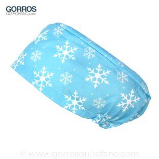 Gorros Quirofano Copos Nieve