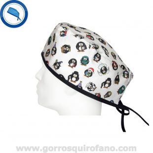 Gorros Quirofano 714 Pinguinos
