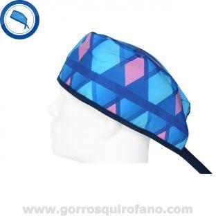 Gorros Quirofano 721 Rombos abstracto