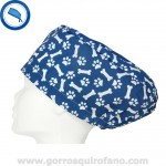 Gorros Quirofano Veterinarias Azul