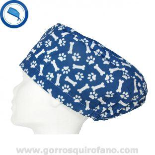 Gorros quirofano 232 Veterinarios Azul