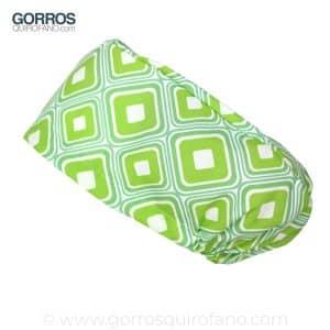 Gorros quirofano 234 Abstracto Verde