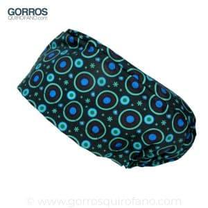Gorros quirofano 235 Neon Circulos