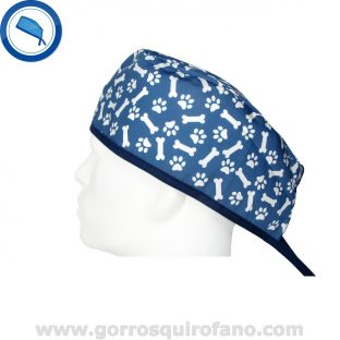 Gorros quirofano 724 veterinarios azul
