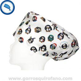 Gorros Quirofano 220 Pinguinos