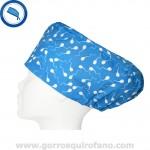 Gorros Quirofano 222 Espermatozoides Azul