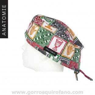 Gorros Quirofano ANATOMIE Classic Hombre ANA042