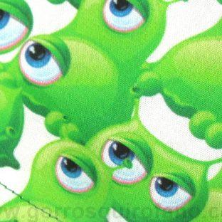 Gorros Quirofano Extraterrestres Verdes