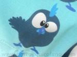 Gorros Quirofano Pollito Divertido Azul
