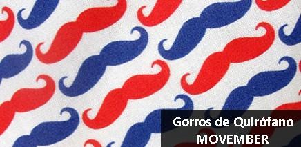 Gorros de quirófano Movember