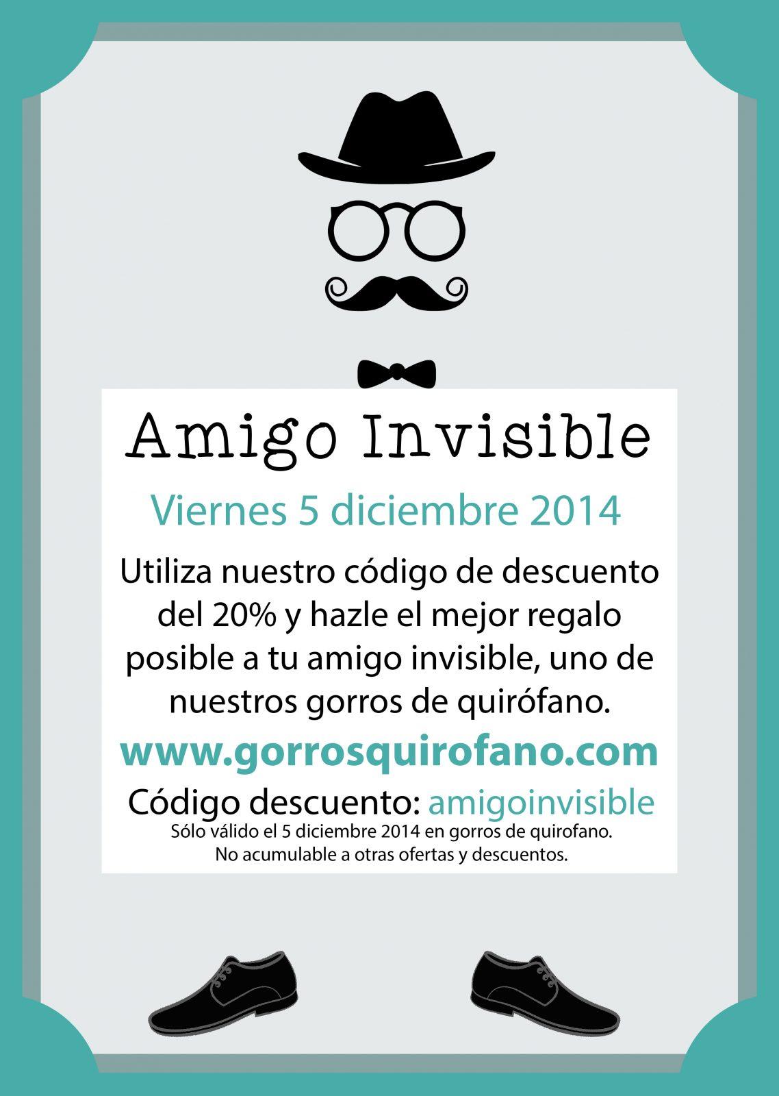 AmigoInvisible gorrosquirofano