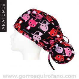 Gorros Quirofano Gatos Divertidos ANA1050