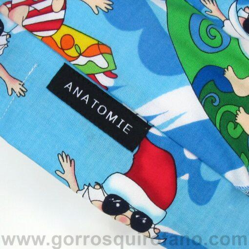 Gorros quirofano ANATOMIE Bandana Santa Claus