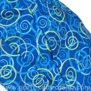Gorros quirofano ANATOMIE Superlazo Azul