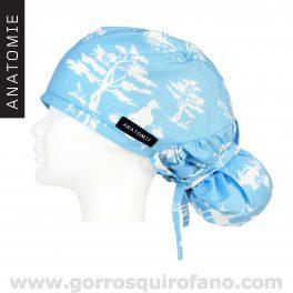 Gorros Enfermeras ANATOMIE Geisha Azul