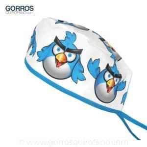Gorros Quirofano Angry Azul