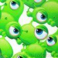 Gorros Quirofano Extraterrestres Verdes - 746a