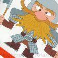 Gorros Quirofano Vikingos Hacha - 750a