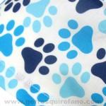 Gorritos veterinarios huellas azules