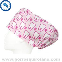 Gorros Odontologia Muelas Rosas