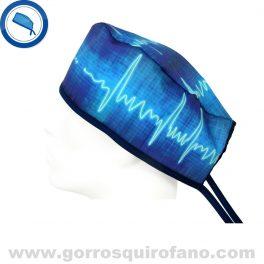 Gorros Quirofano Cardiologos Electrocardiograma