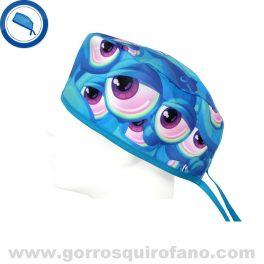 Gorros Quirofano Ojos Extraterrestres Azules