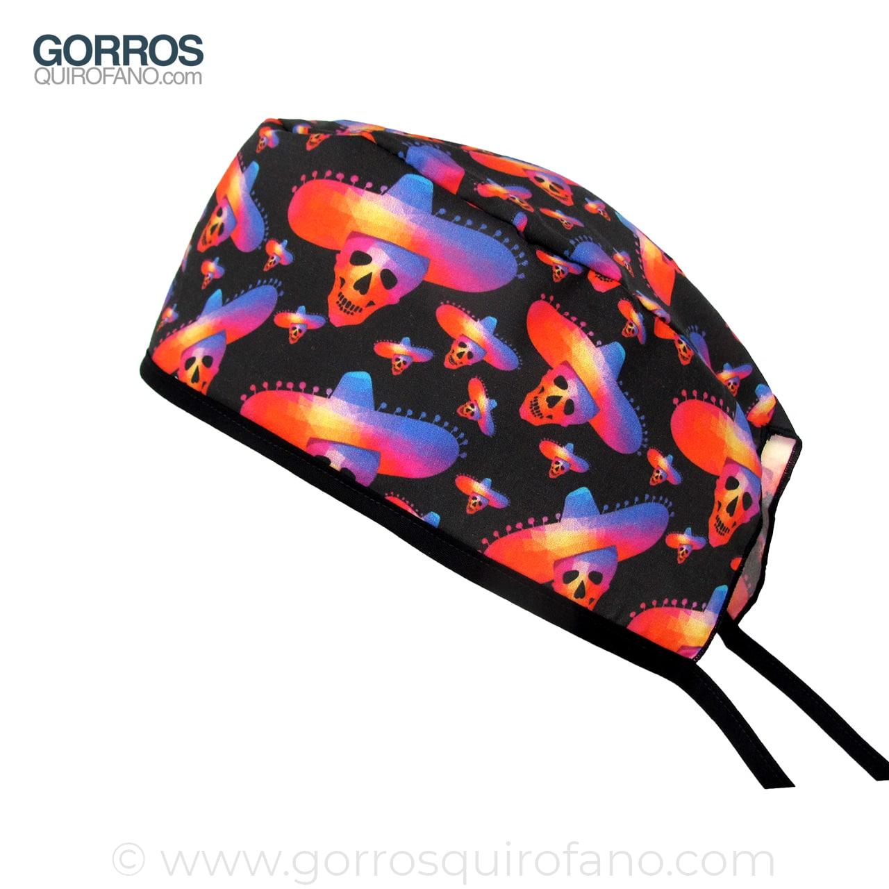 Gorros Quirurgicos Calaveras Colores Sombrero Mexicano 0e0348ff371