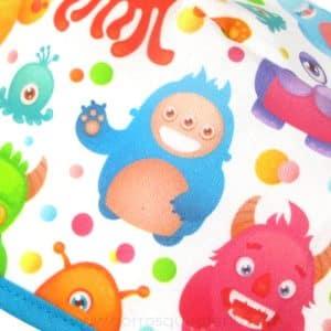 Gorros Sanitarios Dibujos Divertidos Monstruos Colores