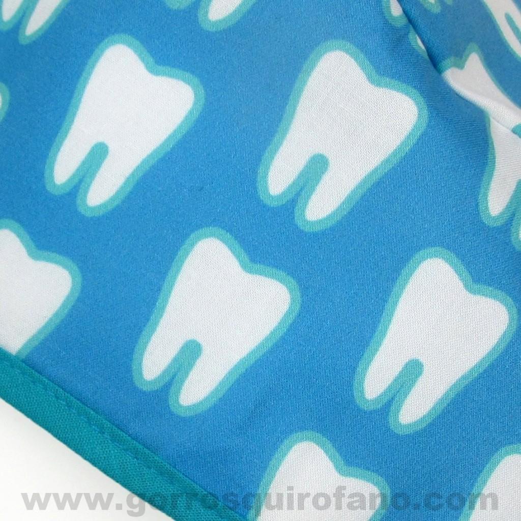 Gorros Odontologos Muelas Azules
