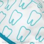 Gorros tela Dentistas Muelas Dientes Verdes