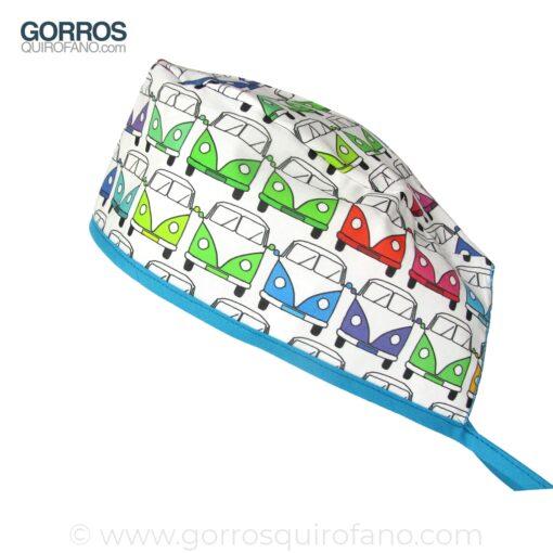 Gorros Quirofano 771 Caravana Colores VW