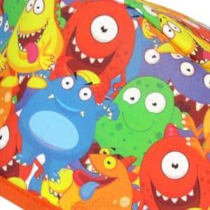 Gorros cirugia monstruos colores