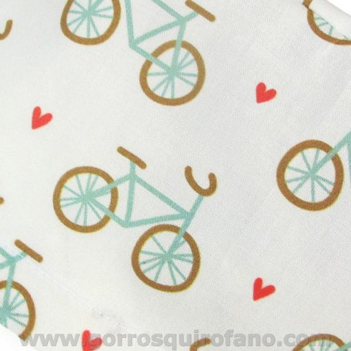 Gorros cirugia mujer bicicletas