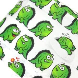Gorros enfermeria monstruos verdes divertidos