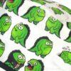 Gorros para cirujanos divertidos monstruos verdes