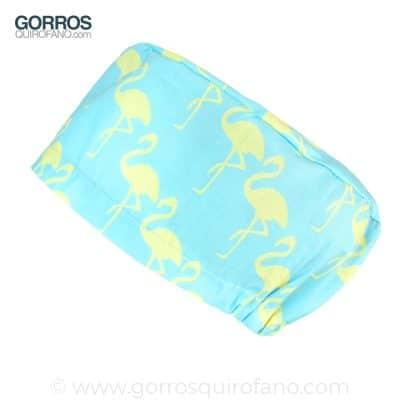 Gorros para quirofano mujer flamencos 298