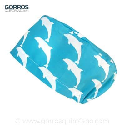 Gorros sanitarios quirofano delfines 302