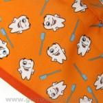 Gorros Dentistas naranjas muelas 786