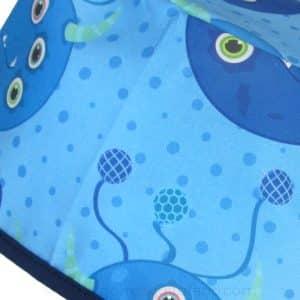 Gorros Cirugia Divertidos Monstruos Azules Ojos - 798a