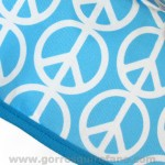Gorros Cirugia Simbolo Paz Azul - 793a