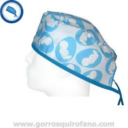Gorros Quirofano Clinicas Fertilidad Bebes - 795
