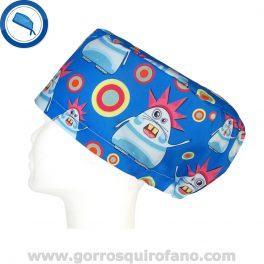 Gorros Quirofano Divertidos Monstruos Deformes - 332